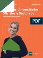 Programas Mg y Phd