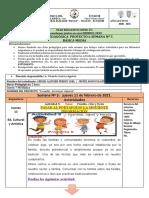 10MO A. ADAPTACION CURRICULAR  PROYECTO 6 -SEMANA 5