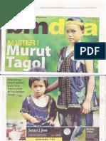 MISTERI MURUT TAGOL