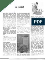 Pest and Disease Control Optimised