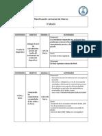 Planificación IV NM Química Electivo Marzo