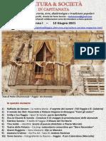 Cultura & Società in Capitanata N. 34 Del 12-06-2021