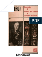 Denis Diderot - Calugarita-Nepotul-Jack fatalistul