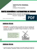 Tema 04 - Energia Eólica