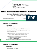 Tema 06 - Energia de Biomassa