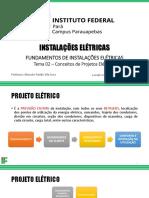 Tema 02 - Conceitos de Projetos Elétricos