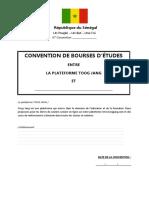 CONVENTION BOURSES TJ