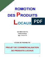 PROJET DE COMMERCIALISATION DE PRODUITS LOCAUX