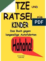 Das Kinderbuch Gegen Langweilige Autofahrten [3. Aktualisierung] by Bieber Christoph (Z-lib.org)
