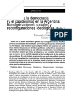 IPAR Y OTROS Dilemas de la democracia y el capitalismo en la Argentina