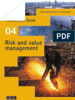 achieving excellence guide risk & value management