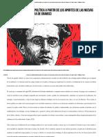 Balsa estrategia politica desde Gramsci