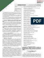 Aprueban el Trigésimo Primer Listado de Beneficiarios civiles, militares y policiales del Programa de Reparaciones Económicas (PRE)