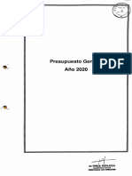 2.1 Proyecto Ley PP2020