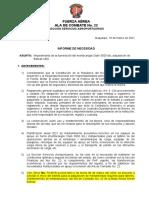 (03) Informe de Necesidad
