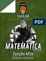 ESA MATEMÁTICA - Ex. - Função Afim (2)