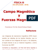 Campo Magnetico y Fuerza Magnetica ESFI 2019