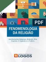 Fenomenologia da Religião | Curso de Teologia 100% Online | Instituto de Teologia Logos
