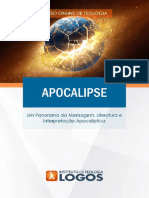 Apocalipse   Cursos de Teologia 100% Online   Instituto de Teologia Logos