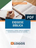 Exegese Bíblica| Interpretação Bíblica | Curso de Teologia 100% Online | Instituto de Teologia Logos