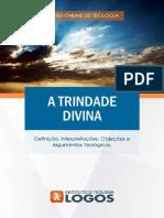 A Trindade Divina | Curso de Teologia 100% Online | Instituto de Teologia Logos