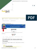 Certificado de Antecedentes Penales - Tramites Públicos VenezuelaAAAAAAA