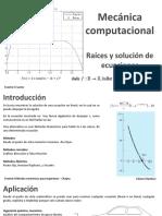 002_Raices de Ecuaciones