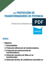 Unidad 10 Protección de Transformadores de Potencia