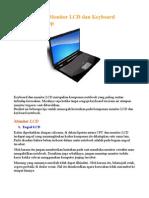 Tips MeRawAt LCD Dan Keyboard Laptop