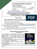 2º ANO-2 ATIVIDADES 10ª remessa