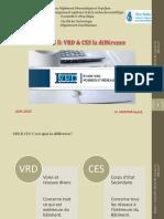 Cours N°5 VRD et CES la différence