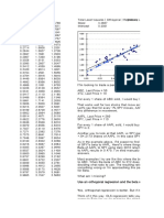 TLS Orthogonal Regression VBA