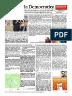 Agenda Democratica Maggio - Giugno