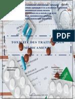 Toxicité Du Traitmns Mdtx