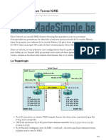 ciscomadesimple.be-Configuration dun Tunnel GRE