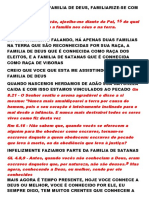 SERMÃO FAÇA PARTE DA FAMILIA DE JESUS CRISTO