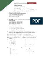 Guia N ° 11  (Relaciones y concepto de función )
