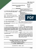 NBR 5833 Mb 1022 - Determinacao Do Conteudo de Epoxi Nas Resinas Epoxi