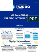 Mapa Mental - Direito Internacional