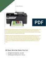 HP Officejet 4500 All