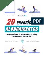 E-book Alongamentos - CinesioPro