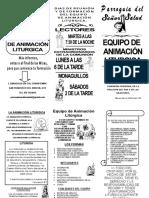 ANIMACION LITURGICA