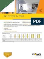 Acustiver p y p500