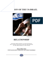 Evolution of the US-Israel Relationship - Objective Measurement of the Information And 3 Years Projection