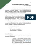Orientações Para Defesa Do Projeto Segunda Fase 2017
