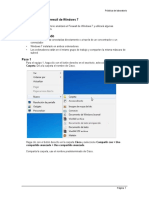 14-Configuración del Firewall de Windows 7