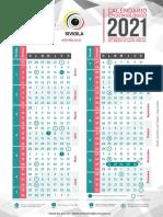 Calendario epidemiologico 2021