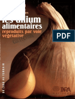 Extrait Les Allium Alimentaires Reproduits Par Voie