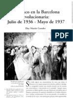 Flamenco en La Barcelona Revolucionaria Julio de 1936 Mayo de 1937