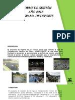 PLANTILLA PRESENTACIÓN INFORME DE GESTIÓN (1) deporte